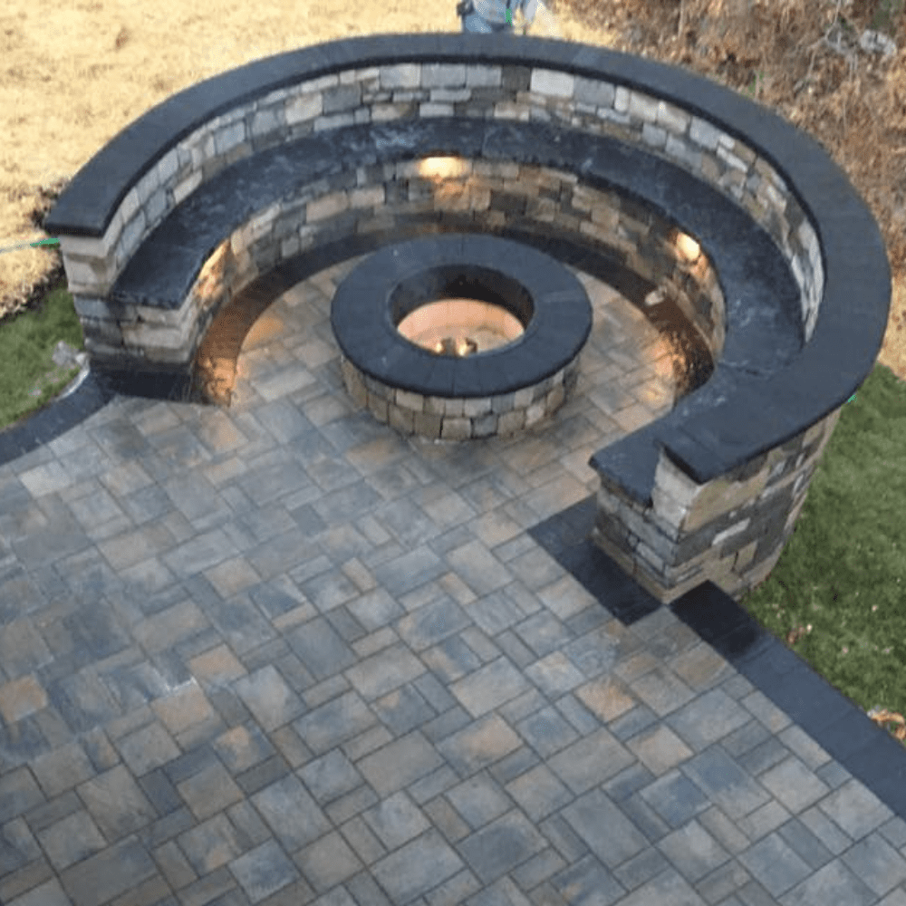 Walls and Benches, Keystone Pavers